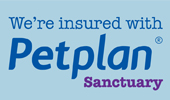 We're insured with Petplan